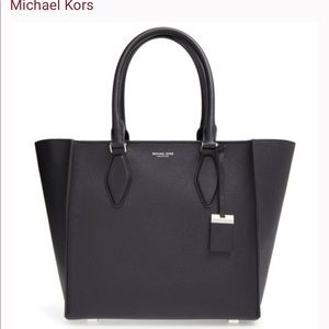 Michael Kors Collection Large Gracie Leather Tote